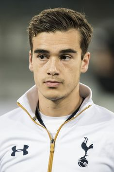 Harry Winks of Tottenham Hotspur FCduring the UEFA Europa League round of 16 match between KAA Gent and Tottenham Hotspur FC on February 2017 at the Ghelamco Arena in Gent, Belgium. Tottenham Hotspur Wallpaper, Kaa Gent, Paris Saint Germain Fc, Tottenham Hotspur Football, Spanish Men, Fc Bayern Munich, Football Boys, English Premier League, English Men
