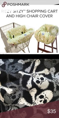 Itzy Ritzy Shopping Cart Cover So cute and chic!!!! Fabulous new mom and baby must to keep your little one clean and cozy for shopping! No longer make this print! Itzy Ritzy Other