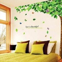 Removable Tree Art Vinyl Quote DIY Flower Wall Sticker Decal Mural Room Decor for sale online Wall Stickers Family, Diy Wall Stickers, Flower Wall Stickers, Sticker Paper, Rooms Home Decor, Room Decor, Art Decor, Tree Wall Painting, Wall Decals For Bedroom