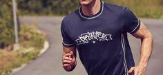Tricou sport Run Active Running, Sports, Model, Mens Tops, T Shirt, Fashion, Hs Sports, Supreme T Shirt, Moda