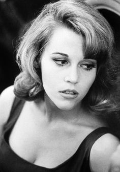 """Jane Fonda -- What young man alive in 1968 could forget Jane Fonda as the star of the Science Fiction-Soft Porn Cult Film ..."""" Barbarella - Queen of the Universe"""" ...phew!"""