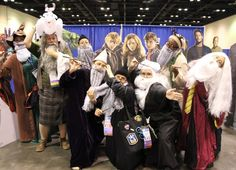 An army of Dumbledores from Harry Potter | 36 Delightfully Geeky Cosplays From LeakyCon