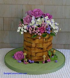 Cakes that don't look like cakes! Our favorite type to make!