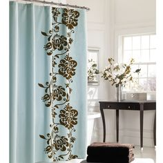 The Athena Microfiber Shower Curtain From Madison Park Lets You Update Your  Bathroom In Style. This Microfiber Curtain Features A Fresh Floral Desiu2026