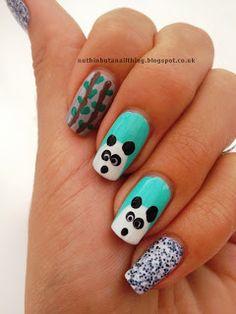 Panda Nail ArtCheck!!!