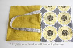 Today I am going to share a tutorial for a couple of versions of a quick and easy bag made from Fat Quarters as part of Elizabeth's Christmas in July series – to help all of us get started on those handmade gifts early so we're not sewing zombies on December 24th. This tutorial …