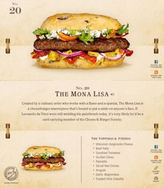 40 Of The Most Delicious-Looking Cheese Burger Combinations Ever - UltraLinx Burger Menu, Gourmet Burgers, Burger And Fries, Beef Burgers, Burger Recipes, Beef Recipes, Cooking Recipes, Cheese Burger, Good Food