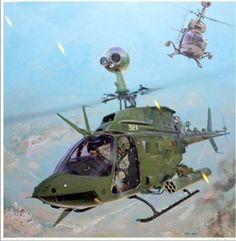 "OH-58D ""KIOWA WARRIORS"