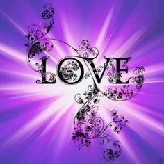 Spread the love ! The love of purple ! Purple Love, All Things Purple, Shades Of Purple, Deep Purple, Purple And Black, Pink Purple, Purple Stuff, Purple Candy, Purple Hearts