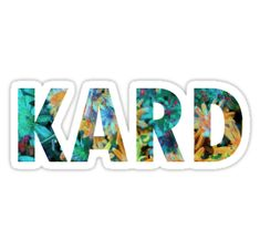 kard flower design • Also buy this artwork on stickers, apparel, phone cases, and more.