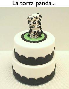 Panda Panda Panda Cake