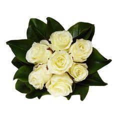#White #Roses with #Magnolia #Leaves #FakeFlowerStems#Bowral #Australia