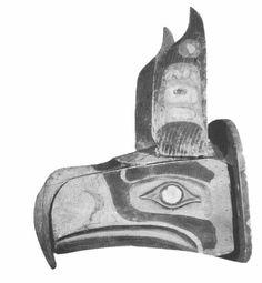 The salish mask that inspired the seahawks logo - #BeElite
