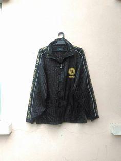 2ea3cc1db674 Vintage Versace Windbreaker Jacket Medussa Jean Couture Gianni Versace Yves  Gucci