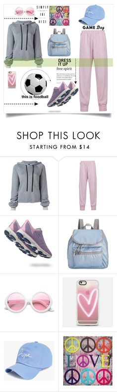"""""""Untitled #229"""" by marina-kar ❤ liked on Polyvore featuring Unravel, Mother of Pearl, Geox, LeSportsac, ZeroUV, Casetify, Boohoo and gameday"""