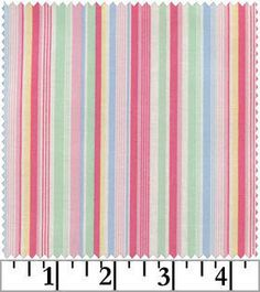 Pink Multi Stripe Old New Collection 30s Lecien by NauvooQuiltCo, $5.45