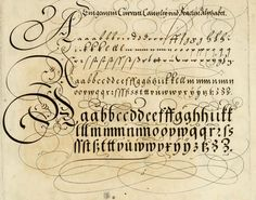I just died and went to heaven. ||| The Proper Art of Writing: A Compilation of All Sorts of Capital or Initial Letters of German, Latin and Italian Fonts from Different Masters of the Noble Art of Writing