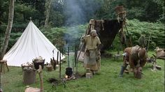 Medieval Camp Robin Hood Festival where the forest comes to life.