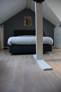 Wij hebben gekozen voor een kurkvloer in een slaapkamer omwille van ...