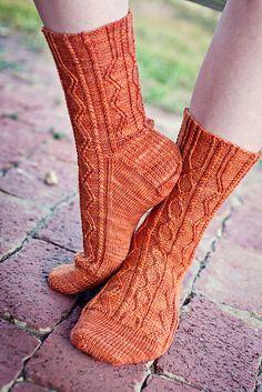 Ravelry: Two-Horse Hitch Socks pattern by Anne Podlesak