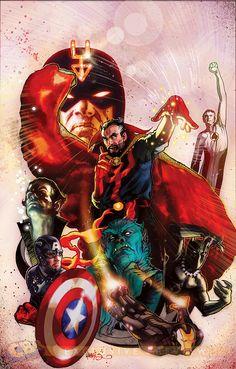 New Avengers by Tony Harris