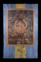 Thangka depicting Milarepa Tibet, 17th-18th Century (?)