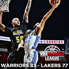 For the second straight game, the Warriors overcame a double-digit deficit in the second half to advance in the inaugural NBA Summer League Tournament. Tonight, they came back from 12 points down to beat the Lakers 83-77. Kent Bazemore scored 20 of his 26 points in the second half and Cameron Jones also had a big night with 18 points for the Warriors, who will play Charlotte on Sunday (5 p.m. on NBA TV) in the tournament semifinals.