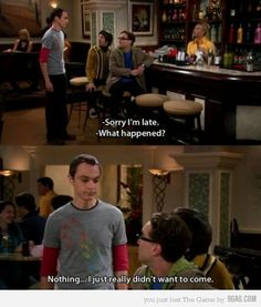 Sometimes Sheldon sounds so much like an INTJ it's ridiculous.