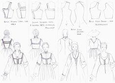Kirtle how to. From an SCA workshop.