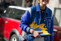 Street Style From Milan fall 15