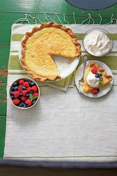 Classic Southern Buttermilk Pie - Our Best Buttermilk Recipes - Southernliving. Silky, sweet and perfectly decadent—this one isgoing to have you going in for seconds.    Recipe:Classic Southern Buttermilk Pie