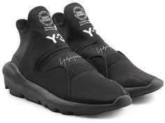 103d0b589a9 Adidas Y-3 Suberou Sneakers with Leather Sock Shoes