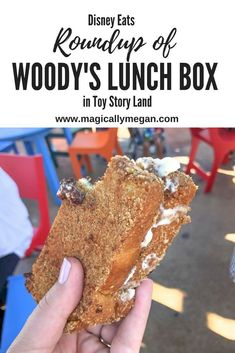 It's time for Woody's Roundup, a roundup of Woody's Lunch Box that is. Check out Hollywood Studios newest dining location in Toy Story Land. #disneyeats#toystoryland#waltdisneyworld
