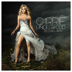 carrie underwood's new album cover. too bad angelina did the leg-thing first.