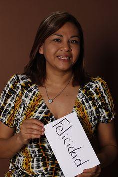 Felicidad, Leticia Nájera, Ama de Casa, Monterrey, México.