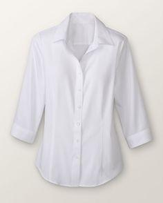 3/4 no iron shirt