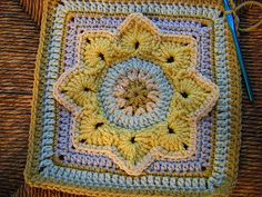 Eight Pointed Flower | www.ravelry.com/projects/chitweed/eig… | Flickr