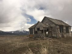 Abandoned house in the mountains of Idaho