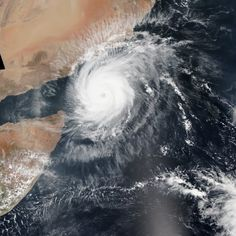 Cyclone Chapala makes an extremely rare landfall in central Yemen. The rainfall from Chapala is far beyond anything ever witnessed in this arid area. Climate Change Effects, Waves, Clouds, Weather, Outdoor, Cloud, Outdoors, Outdoor Games, Wave