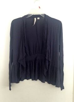 Buy my item on #vinted http://www.vinted.com/womens-clothing/cardigans/20105888-navy-blue-open-cardigan-sweater-m