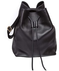 9ba65515e64 K I K I I T O - Sasa Black Large Bucket, Neoprene Rubber, You Bag, Leather  Backpack,