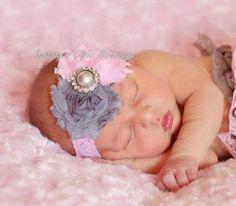 Baby Headband Infant Headband Newborn by SummerChicBoutique, $6.50