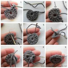 How to Crochet: Invisible Join vs Slip Stitch Join crochet tutorials Photo