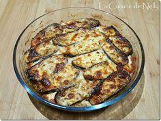 Gratin d'Aubergines et Porc, façon Moussaka Moussaka, Meat, Chicken, Eggplants, Pork, Food, Recipes, Essen, Beef