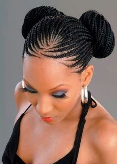 Black Cornrow Hairstyles