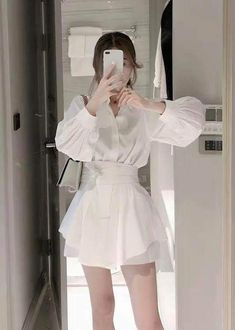 Korean Street Fashion, Asian Fashion, Girl Fashion, Fashion Dresses, Fashion Design, Stylish Outfits, Cool Outfits, Dior Dress, Ulzzang Fashion