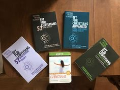 5 different instructional Christian EFT tapping books! Christian Devotions, Christian Faith, Eft Tapping, Foot Reflexology, Muscle Anatomy, Sports Massage, Lymphatic System, Emotional Healing, Boxing Workout