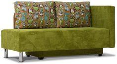 Диван-кровать Смайлик, правый, зеленый купить по цене 9702 руб в интернет-магазине Enter.ru. Диван-кровать Смайлик, правый, зеленый характеристики, отзывы, и фото