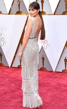 Olivia Culpo in Marchesa - click through for more better-from-the-back Oscars dresses