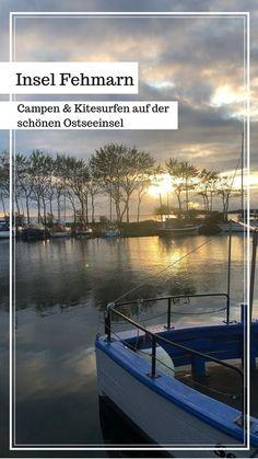 Fehmarn ist nach Rügen und Usedom mit ca. 185 qkm die drittgrößte Insel Deutschlands. Ich nehme euch mit, zeige euch ein paar wundervolle Ecken auf der Insel und gebe euch ein paar Tipps zum Kitesurfen und Camping auf Fehmarn mit auf den W Kitesurfing, Europe Travel Guide, Travel Destinations, Kite Surf, Camping Aesthetic, Camping Holiday, Camping Photography, Wakeboarding, Travel Agency